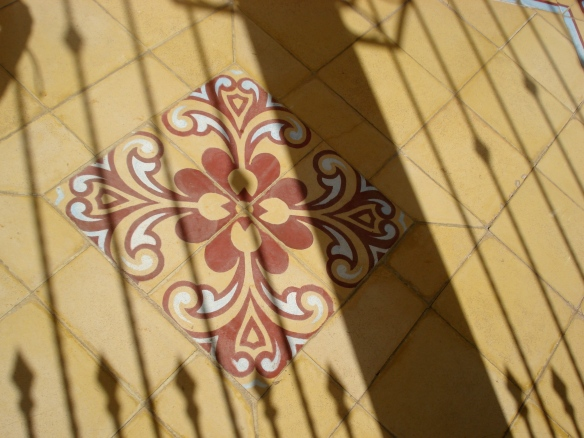 Wrought Iron Shadow - Laguna de Apoyo