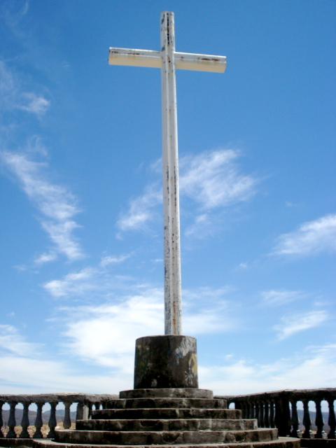 Cross overlooking San Juan del Sur