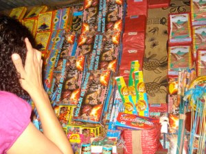 A selection of fireworks