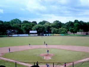 The baseball park in Rivas